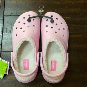 Crocs classic lined clog new with tags